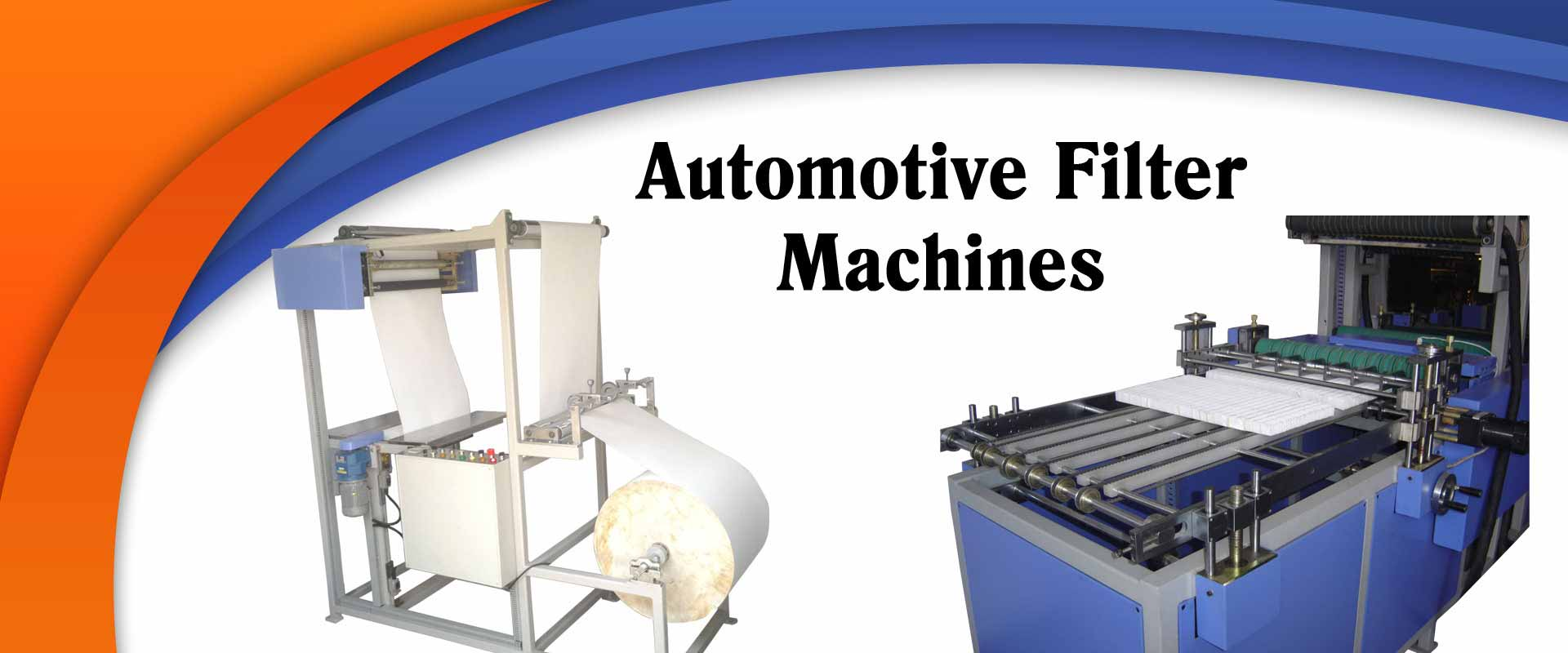Automotive Filter Machine