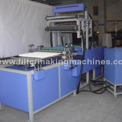Mini Pleat Machine With Hot Melt Separation In Jalandhar